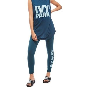 IVY PARK Cotton Logo Ankle Legging